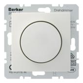 Berker S.1 Centraalplaat met Dimmerknop Wit