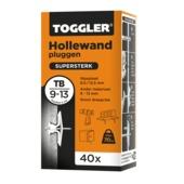 Toggler hollewandplug TB 40 stuks