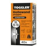 Toggler hollewandplug TC 40 stuks