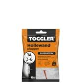 Toggler hollewandplug TA-6 3-6 mm 6 stuks
