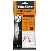 Toggler hollewandplug TC-20 16-19 mm 20 stuks