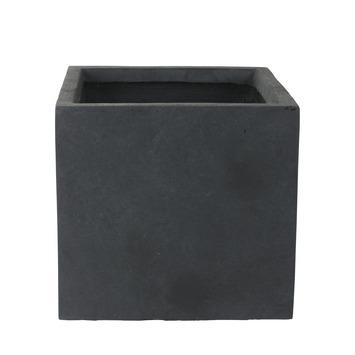 Pot Antraciet Fiberclay 35x35x32 cm