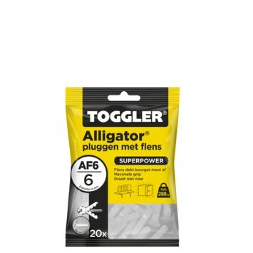 Toggler alligatorplug AF6 6 mm 20 stuks