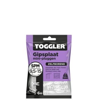 Toggler gipsplaatplug SPM-6 6 stuks