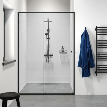 Schuifdeur voor NIs Contour Zwart 140x200cm