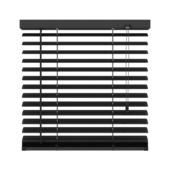 GAMMA horizontale jaloezie aluminium 50 mm 320 mat zwart 160X180