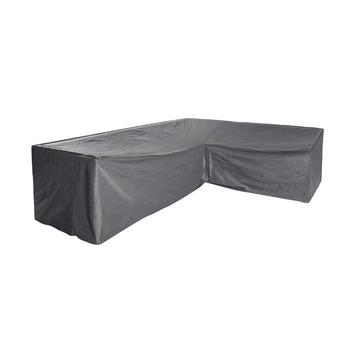 Hoes L-vorm Grijs Polyester 250x250 cm