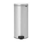 Brabantia pedaalemmer NewIcon 30 liter metallic grey