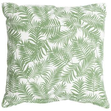 Kussen Palmtak Groen 45x45 cm