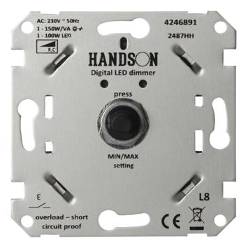 Handson inbouwdimmer LED