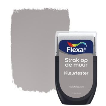 Flexa Strak op de muur kleurtester heidetaupe