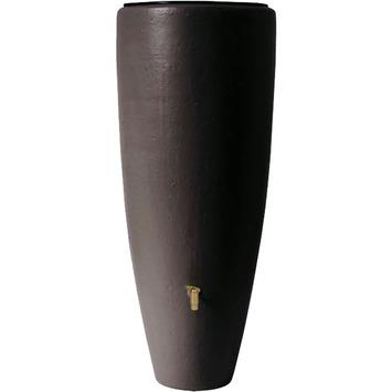 Regenton met plantenbak bruin 300 liter