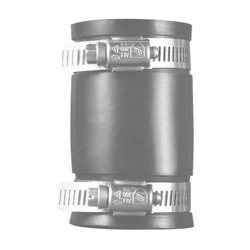 Martens koppeling recht flexibel rubber 50-40 mm