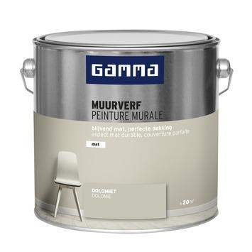 GAMMA muurverf mat 2,5 L dolomiet