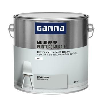 GAMMA muurverf neveldauw mat 2,5 liter