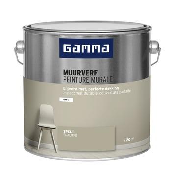 GAMMA muurverf mat 2,5 L spelt