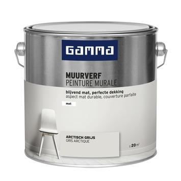 GAMMA muurverf mat 2,5 L arctisch grijs