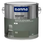 GAMMA muurverf mat 2,5 L salie