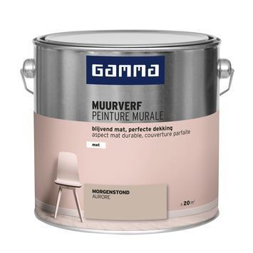GAMMA muurverf mat 2,5 L morgenstond