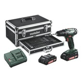 Metabo accuboormachine BS18 set