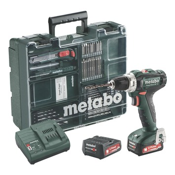 Metabo accuboormachine PowerMaxx BS12 set