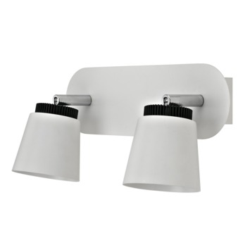 GAMMA opbouwspot Cassino 2-lichts wit