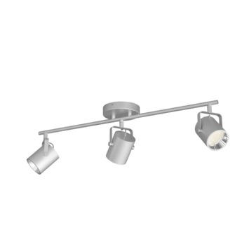 Philips opbouwspot Byre 3-lichts zilver