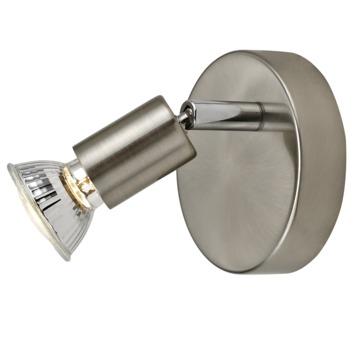 GAMMA opbouwspot Amalfi 1-lichts nikkel