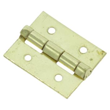 HANDSON Scharnier 19x15 mm vermessingd