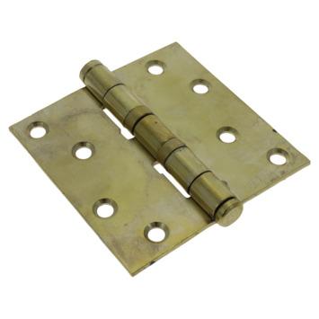 GAMMA Kogellagerscharnier 90x90 mm vermessingd