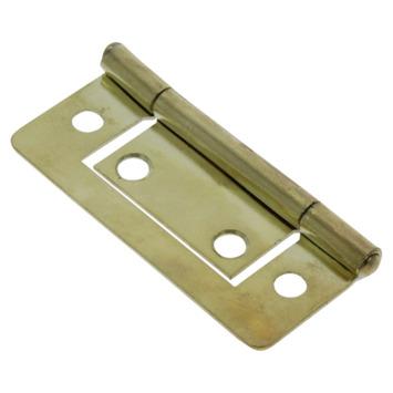HANDSON Scharnier 50 mm vermessingd - 2 stuks
