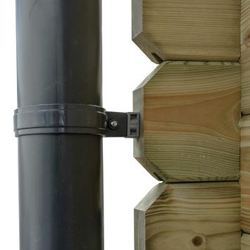 Dakgoot voor Tuinhuis Timian/ Fredrik/ Edelweiss Ø10 cm - E400 cm