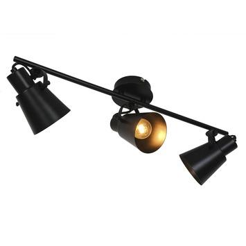 GAMMA opbouwspot Sorrento 3-lichts mat zwart