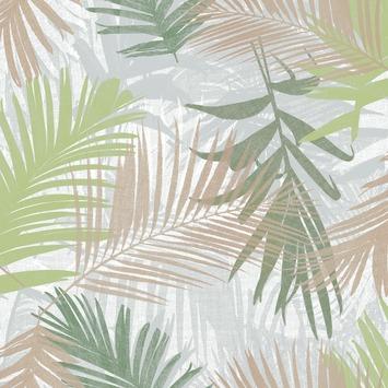 Vliesbehang Jungle glam groen-goud 104265