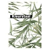 Behangstaal vliesbehang Bamboe wit-groen 104524
