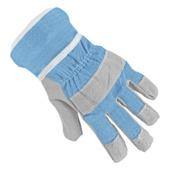 Kinderwerkhandschoenen blauw