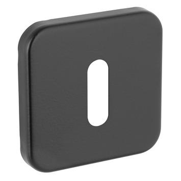 GAMMA sleutelplaat vierkant verdekt zwart