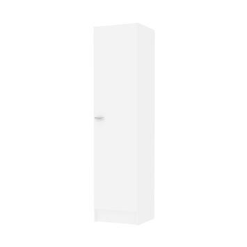 Draaideurkast Cosmo 1-deurs wit
