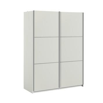 Garderobekast Janneke 150CM wit/houtnerf