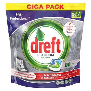 Dreft Platinum Regular 90 + 90 Vaatwastabletten