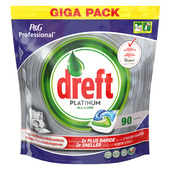 Dreft Platinum Regular 90 + 90 Vaatwastabletten