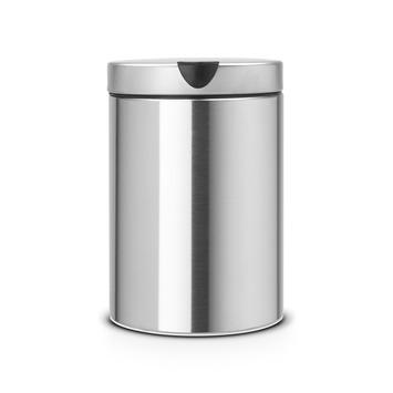 Afvalemmer Brabantia 30 Liter.Gamma Brabantia Afvalemmer 3 Liter Mat Rvs Kopen