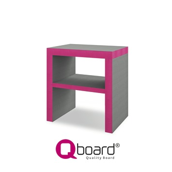 Qboard Single Desq Badkamermeubel 80x60x85 cm