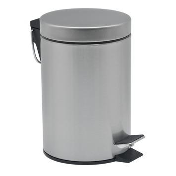 GAMMA pedaalemmer rond mat chroom 12 liter