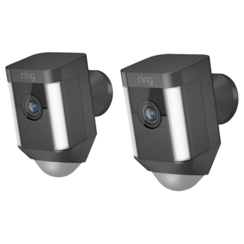 Ring Spotlight Cam Batterij - Zwart - Duopack