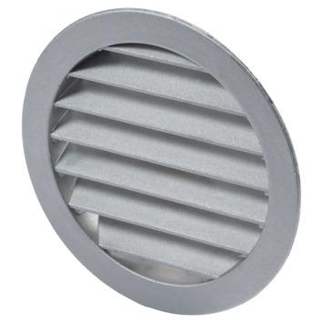 Sanivesk luchtrooster rond aluminium Ø125 mm