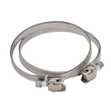Sanivesk slangklem aluminium Ø 60-165 mm 2 stuks