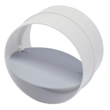 Sanivesk buisverbinder met terugslagklep wit Ø100 mm