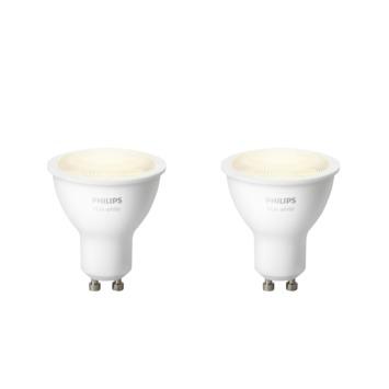 Philips Hue White GU10 5.5 watt 2-pack