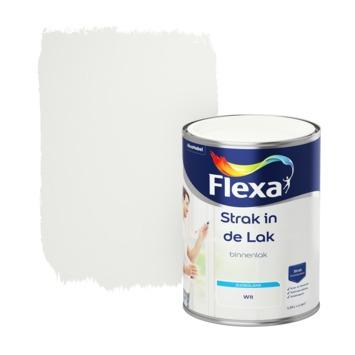 Flexa Strak in de lak voor binnen wit zijdeglans 1,25 liter